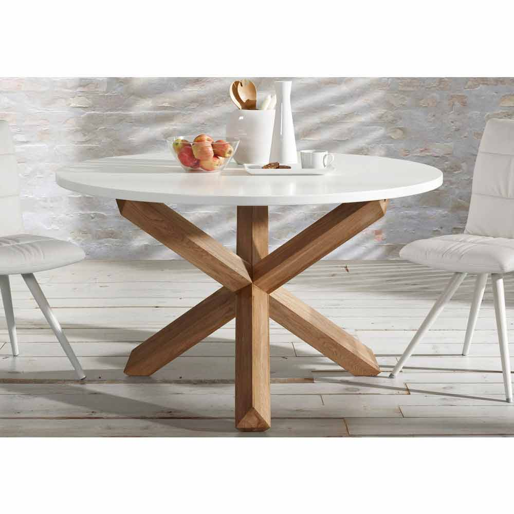 Design table ronde extensible conforama fort de france for Table salle a manger extensible conforama
