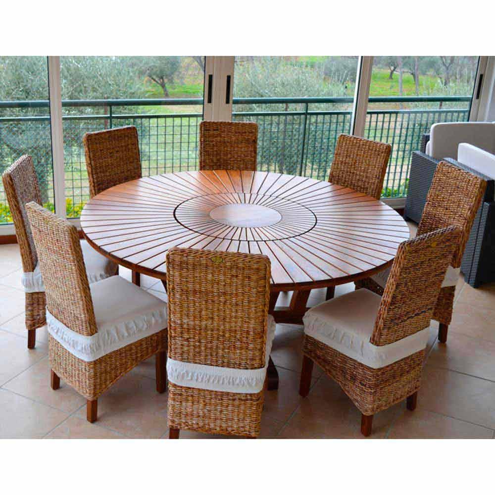 st okr g y z masywnego teak real table. Black Bedroom Furniture Sets. Home Design Ideas
