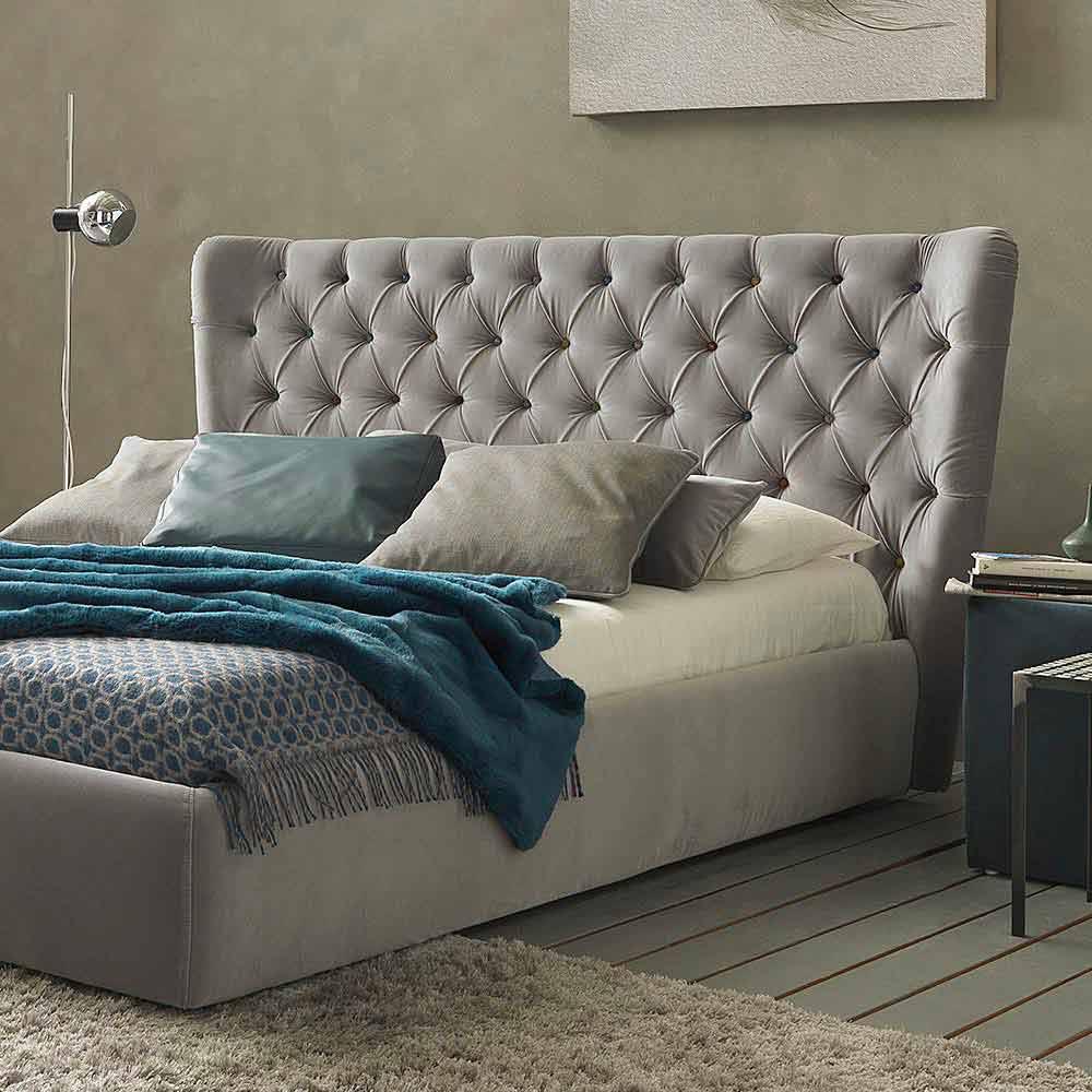 Podwójne łóżko Z Pojemnikiem Na łóżka Nowoczesny Design Selene Bolzan