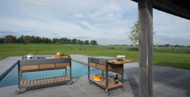 Pomysły na Zewnątrz: Kuchnie Ogrodowe Viadurini in the Garden