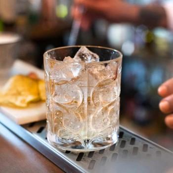 12 podwójnych staromodnych szklanek do kubka w luksusowym ekokrysztale - Destino