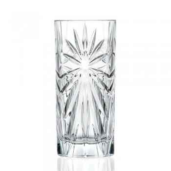 12 wysokich kieliszków koktajlowych Highball Tumbler Eco Crystal Design - Daniele