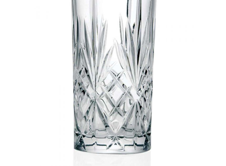 12 Szklanek Alto Highball Tumbler do koktajli w Eco Crystal - Cantabile