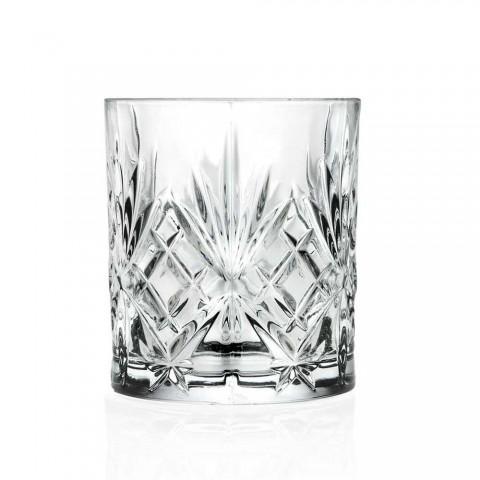 12 szklanek w stylu vintage ze szkła dźwiękowego Eco Superior - Cantabile