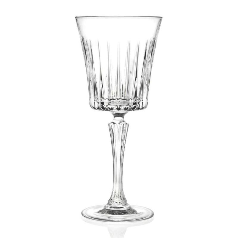 12 luksusowych ekologicznych kieliszków do wina koktajlowego z kryształową wodą - Senzatempo