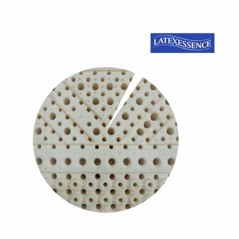 Materac i Plac Połowa 7 Strefa 100% Lateks PureLatex