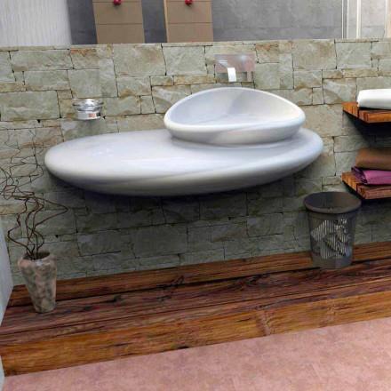 Umywalka wisząca design model-Stone