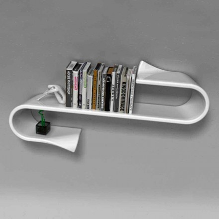 Półka ścienna design Waveshelf Viadurini Design-made in Italy
