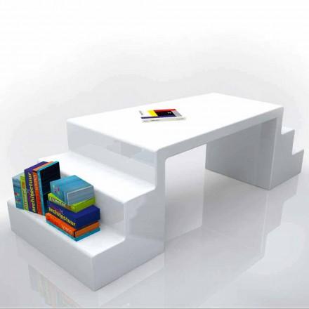 Nowoczesne biurko w kolorze białym, zielonym lub moka - Abbott