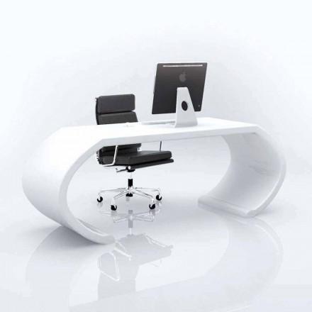 Biurko o nowoczenym wzornictwie Adams, wyprodukowany we Włoszech