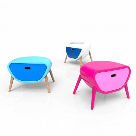 Stolik nocny design Little Gauche Made in Italy