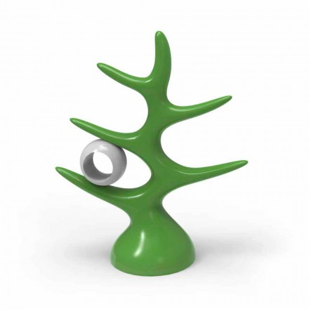 Regał ścienny design Made in Italy, model Treetix