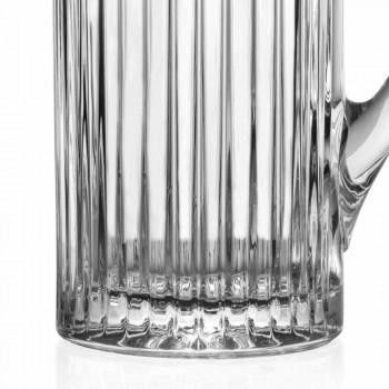 2 dzbanki wody i napojów w luksusowym designie ozdobionym ekokryształami - Senzatempo