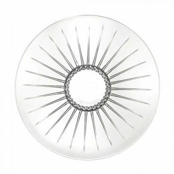 2 Ultraclear Superior Sound Glass Centerpiece Luksus i design - Senzatempo