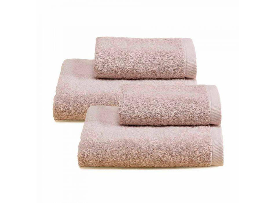 2 pary ręczników kąpielowych Kolorowa usługa z bawełny Spguna - Vuitton