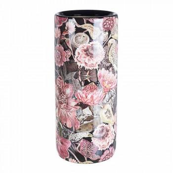 2 porcelanowy stojak na parasole z naklejką kwiatową Homemotion - Jolly