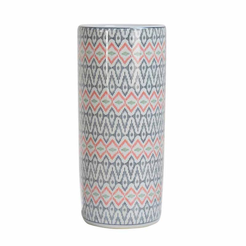 2 Porcelanowy stojak na parasole ozdobiony naklejką Homemotion - Nando