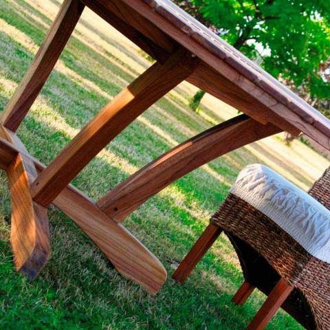 Majątek Stół Okrągły Stół na zewnątrz