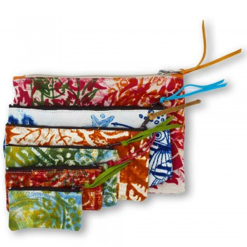 3 ręcznie robione kopertówki z wysokiej jakości bawełny - Viadurini by Marchi