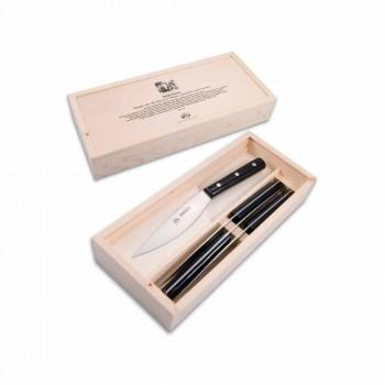 4 noże stołowe Berti Valdichiana wyłącznie dla Viadurini - Aldino