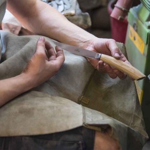 6 ręcznie robionych noży do steków z rogu lub drewna Made in Italy - Zuzana