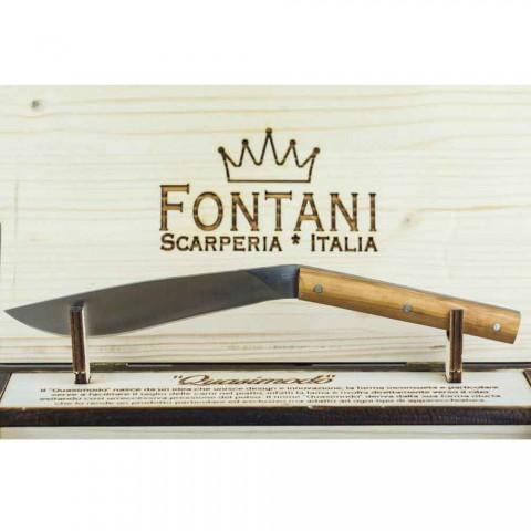 6 ergonomicznych noży do steków ze stalowym ostrzem Made in Italy - Shark