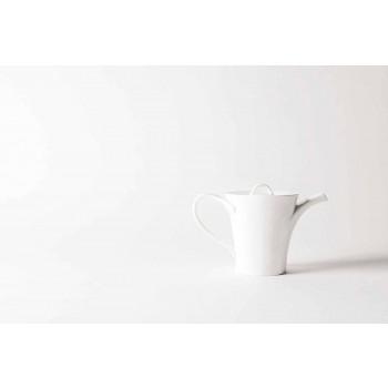 6 porcelanowych filiżanek do kawy z dzbankiem i cukiernicą - Romilda
