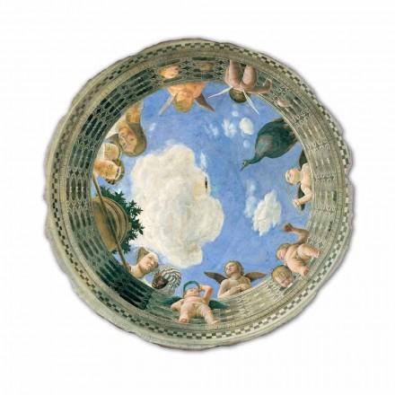 """Freski  Andrea Mantegna """"Oculo con Putti e Dame Affacciati"""""""
