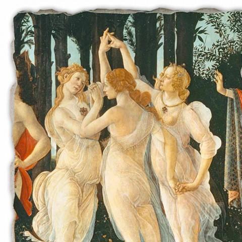 """Botticelli fresco """"Alegoria wiosny"""" - szczegóły"""