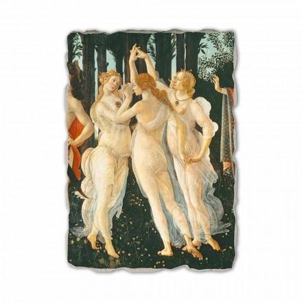 """Botticelli """"Wiosna"""" freski wykonane ręcznie - szczegół"""