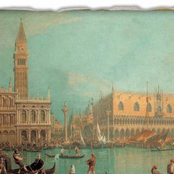 """Fresco Canaletto """"Widok na Pałac Dożów w Wenecji"""""""