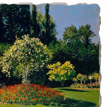 """Fresco Claude Monet """"Lady w ogrodzie w Sainte-Adresse"""""""