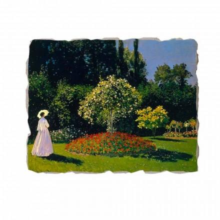 """Claude Monet """" Kobieta w Ogrodzie"""" freski reprodukcja"""