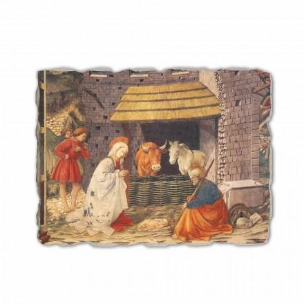"""Freski wykonane ręcznie Filippo Lippi """"Narodzenie"""""""