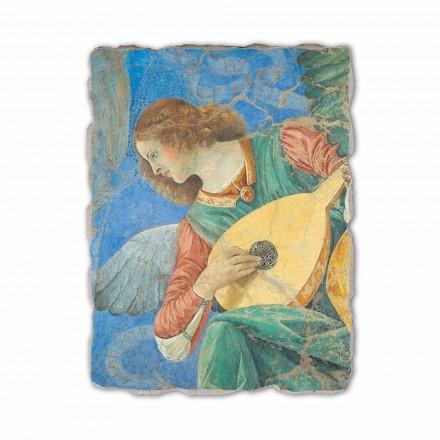 """Freski ręcznie wykonane Melozzo da Forlì """"Anielski Muzyk"""""""