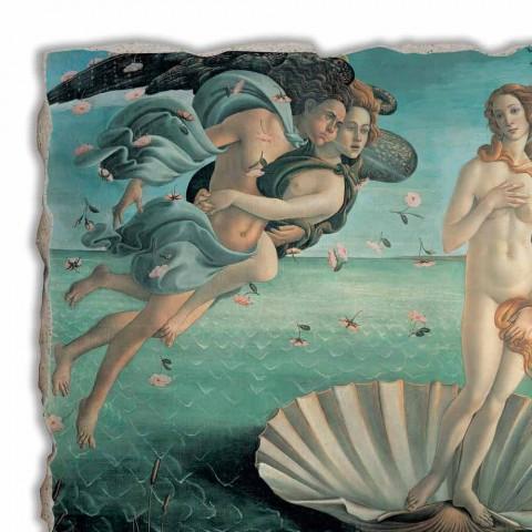 """Fresco wykonane we Włoszech Botticellego """"Narodziny Wenus"""""""