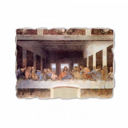 """Leonardo Da Vinci """"Ostatnia Wieczerza"""" freski wykonane we włoszech"""