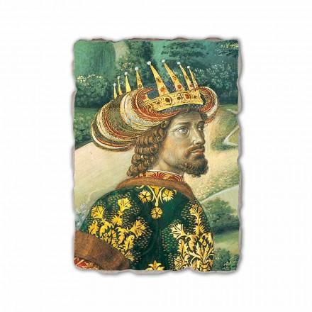 """Gozzoli """"Procesja Trzech Króli z królem Melchior"""" freski włoskie"""