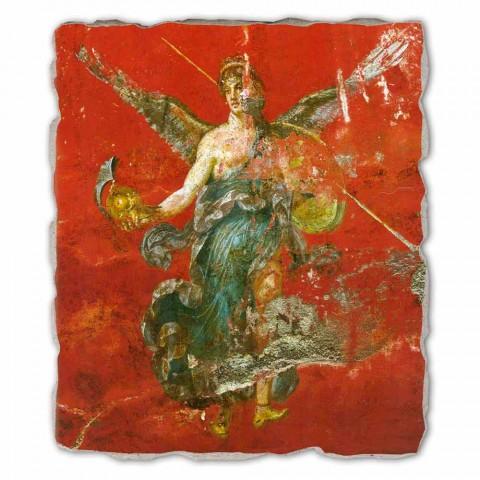 "duży fresk Roman ""Cykl Muz"" made in Italy"