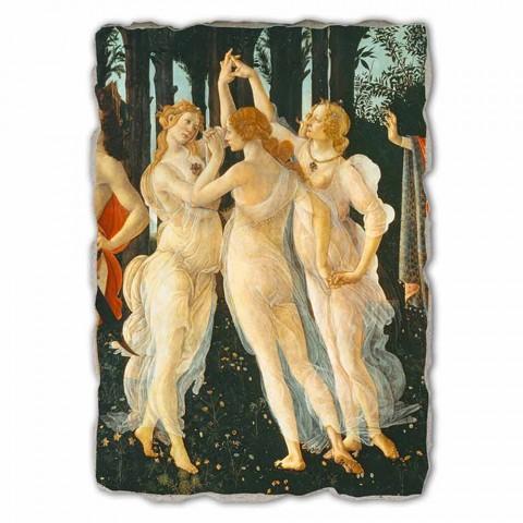 """duży fresk Botticelli """"Alegoria wiosny"""" części."""