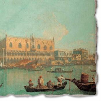 """duży fresk Canaletto """"Widok na Pałac Dożów w Wenecji"""""""