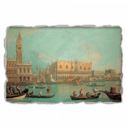 "Canalletto "" Widok Palazzo Ducale di Venezia"" freski - duże"