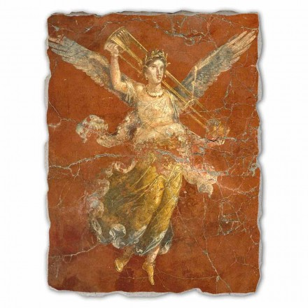 """Freski wykonane ręcznie we włoszech Arte Romana """"Ciclo delle Muse"""" duże"""