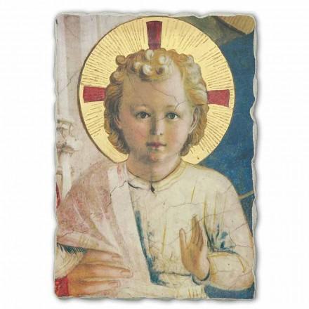 """Freski ręcznie wykonane Beato Angelico """" Madonna Ombre"""" duże"""