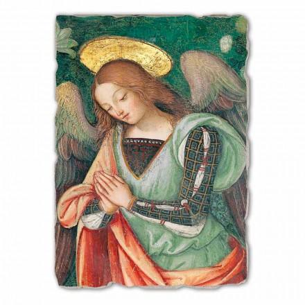 """Freski duże Pinturicchio """" Narodzenie"""" szczegół- Anioł"""