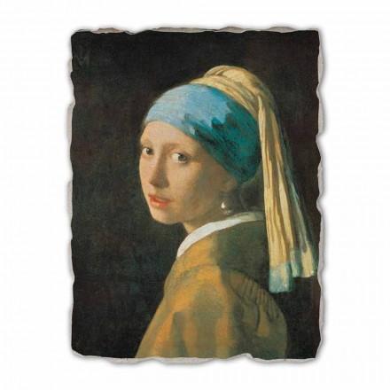 """Vermeer """" Dziewczyna z perłą"""" 1665 - freski duże"""