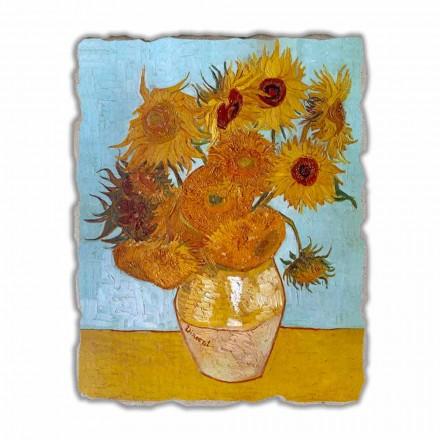 "Vincent Van Gogh "" Słoneczniki"" freski reprodukcja- duże"