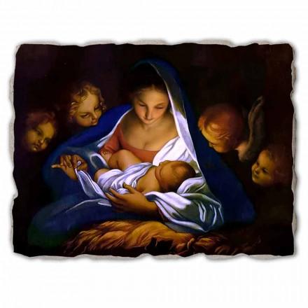 """Freski wykonane we Włoszech Carlo Maratta """"Narodzenie"""" 1650 - duże"""