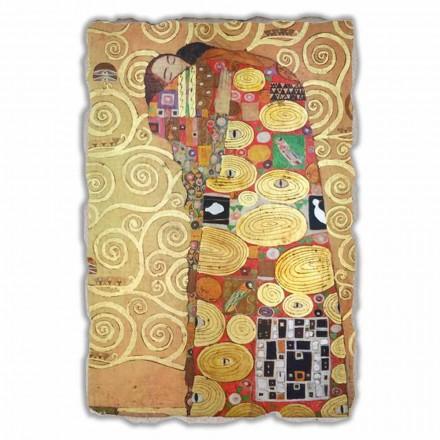 """Gustav Klimt """" Spełnienie"""" freski wykonane we Włoszech - duże"""