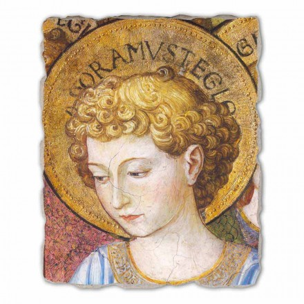 "Freski duże Gozzoli ""Cori di Angeli in Adorazione""- 1454 około"